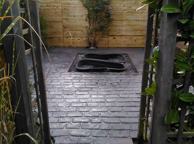 Cheshire Cobble Garden Design