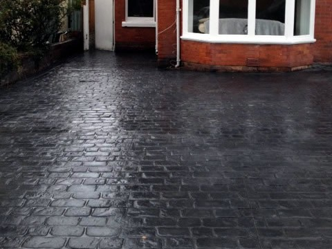 Cheshire Cobble Slate Blue Platinum Grey After Photo