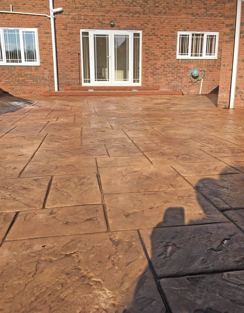 imprinted patios north wales