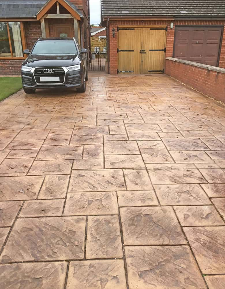 imprinted driveways north wales
